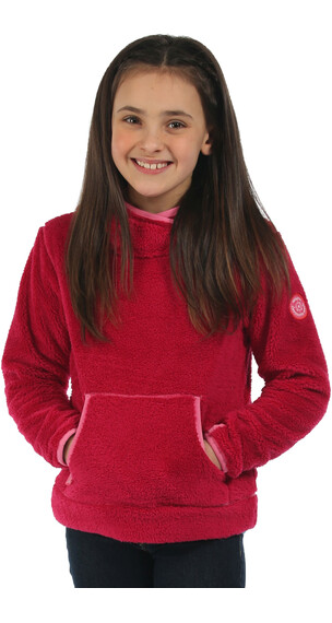 Regatta Jafar Fleece Hoody Girls Dark Cerise